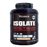 Weider Isolate Whey 100CFM. 100% aislado de proteina de suero. Cero azúcar, cero aspartamo, con...
