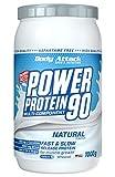 Body Attack Power Protein 90, Neutral, 1 kg, 5 K de proteína en polvo con proteína de suero,...