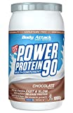 Body Attack Power Protein 90, Crema de chocolate, 1 kg, 5 K de proteína en polvo con proteína de...