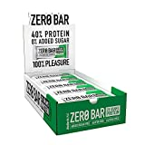 BioTechUSA Zero Bar Barrita de proteínas con alto contenido proteico, sin azúcar añadido o...