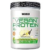 Weider-Vegan Protein- Proteína 100% vegetal de guisantes (PISANE) y arroz. Sin gluten. Sin lactosa....