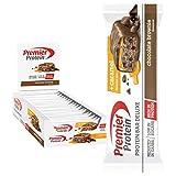 Premier Protein Bar Deluxe Chocolate Brownie 18x50g - Alta Proteína Baja Azúcar + Carbohidratos...