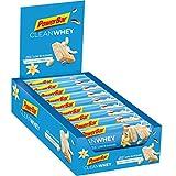 PowerBar Clean Whey Vanilla Coconut Crunch 18x45g - Barras de Proteína con Bajo Contenido de...