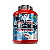 AMIX, Proteína Whey, Pure Fusión, Concentrado de Suero Ultra Filtrado, Sabor Chocolate, Proteínas...