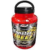 Amix - Proteína de Ternera, Monster Beef Protein, Favorece el Anabolismo Muscular, Rápida y Total...