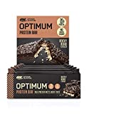 Optimum Nutrition ON Protein Bar Barritas Proteínas con Whey Protein Isolate, Dulces Altas en...