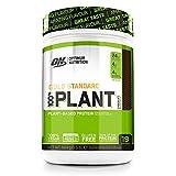 Optimum Nutrition 100% Plant Gold Standard, Proteina Vegana en Polvo, Proteinas Vegetales para Masa...