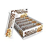 QNT 50% Full Protein Bar Chocolate Cookie - 12 Barras