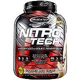 Muscletech Suplemento para Deportistas Nitro Tech Performance Series, Sabor de Cookies & Cream -...