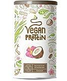 Proteina Vegana - COCO - Proteína vegetal de soja, arroz, guisantes, semillas de lino, amaranto,...