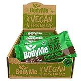 BodyMe Barritas Proteinas Veganas Organica | Crudo Cacao Menta | 12 x 60g Barra Proteina Vegana |...