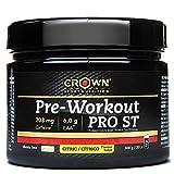 Crown Sport Nutrition Pre Entreno - Preworkout con Óxido Nítrico Taurina Tirosina Betaina Acetil...