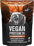 Batidos de proteínas veganas - Proteína vegetal 3K en polvo - de 3 componentes vegetales...