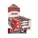 Nutrisport – Barritas Proteicas para Deportistas, Sabor Cookies & Cream, Caja de 24 Barritas,...