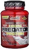 AMIX, Proteínas para Aumentar Masa Muscular con Sabor Chocolate, Predator en Formato Bote de 1 Kg,...