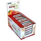 Victory Endurance Nature´s Energy Bar Fresa 60g, barrita energética con un 41% Frutas y 64% de...