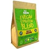 BodyMe Mezcla de Proteina Vegana Organica en Polvo | Cruda Maca Canela | 1kg | Sin Edulcorante |...