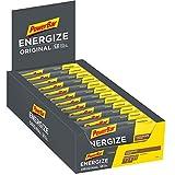 PowerBar Energize Original Chocolate 25x55g - Barra de alta Energía de Carbono + C2MAX Magnesio y...