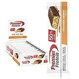 Premier Protein Protein Bar Chocolate Caramel 24x40g - Barras de Proteína con Bajo Contenido de...