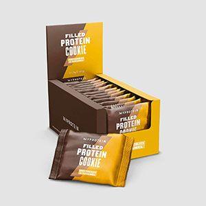 Galletas con proteínas