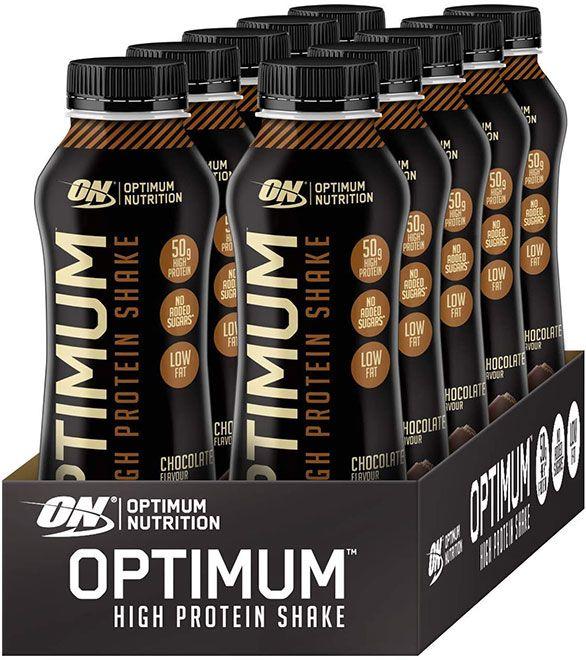 Batido de proteínas sano
