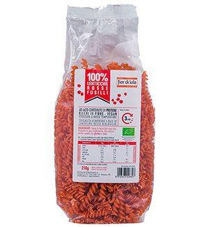 proteínas de lenteja roja