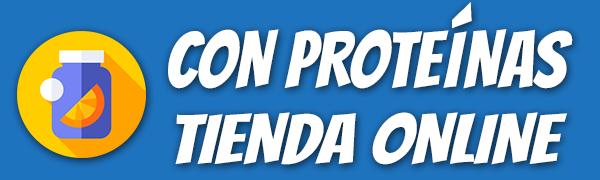 Con Proteínas Tienda Online Logotipo
