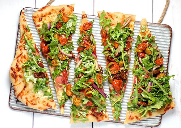 Harina para pizza con proteínas pizza proteica