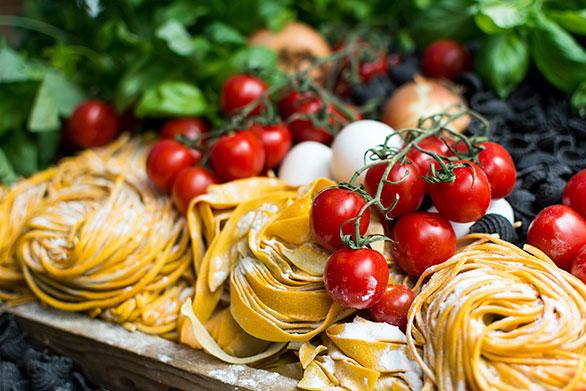 pasta con proteínas proteica