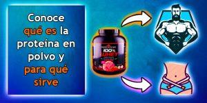 Conoce qué es la proteína en polvo y para qué sirve