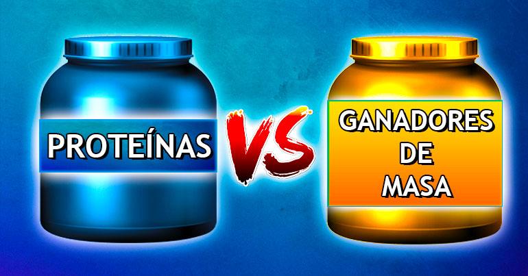 Proteínas vs ganadores de peso