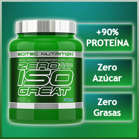Review de Scitec Nutrition Zero Isogreat Conproteinas.com Opiniones