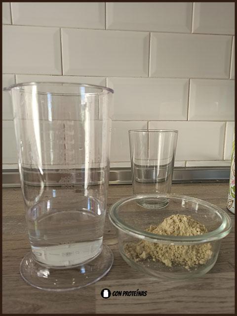 Pasos para elaborar un batido de proteínas vegano