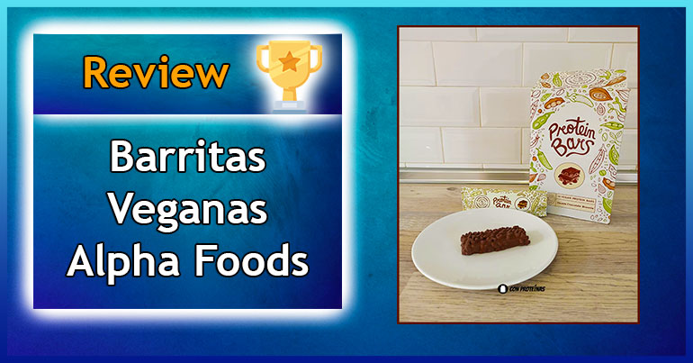 Review de Barritas de Proteínas Veganas Alpha Foods